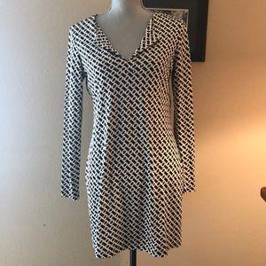 Diane Von Furstenburg Geometric Tunic Dress